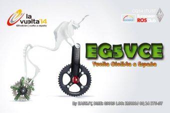 EG5VCE.Vuelta Ciclista de España. 2014