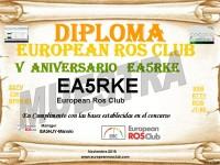 V ANIVERSARIO EUROPEAN ROS CLUB BUENO