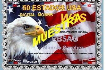 Diploma 25 y 50 Estados USA