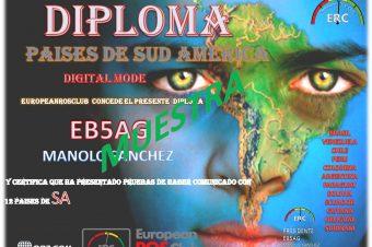 Diploma Paises de Sud America