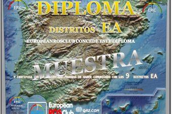 Diploma Distritos de ESPAÑA