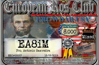 Diploma  ERC-WDAR-USA