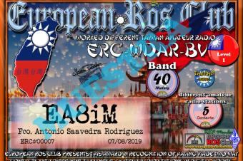 Diploma  ERC-BV