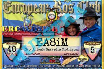Diploma  ERC-WDAR-HC