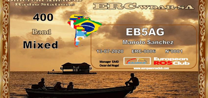 Diploma  ERC-WDAR-SA
