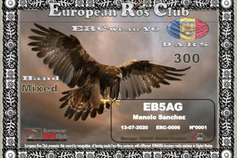 Diploma  ERC-WDAR-YO