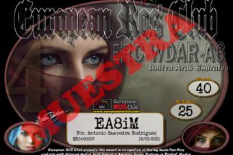 Diploma  ERC-WDAR-A6
