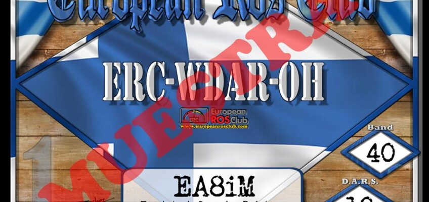 Diploma  ERC-WDAR-OH