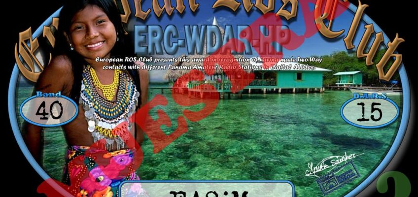 Diploma  ERC-WDAR-HP
