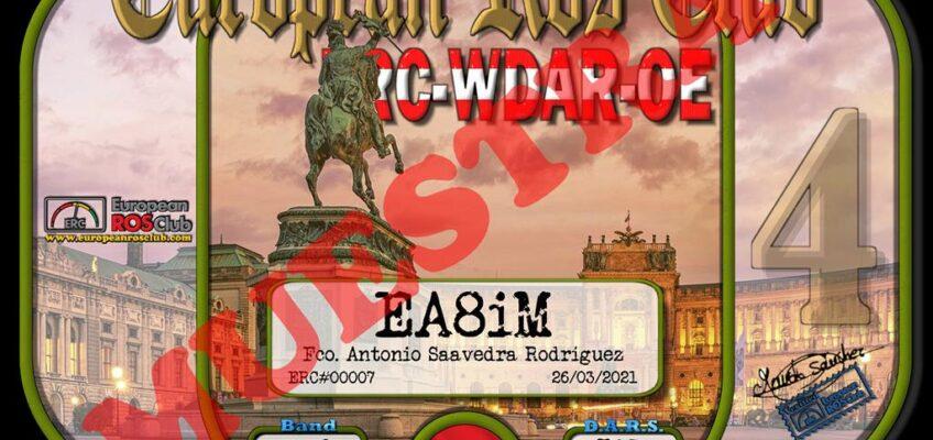Diploma  ERC-WDAR-OE