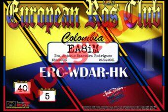 Diploma  ERC-WDAR-HK