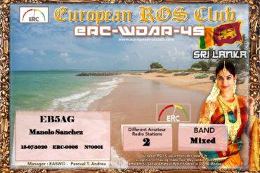 Diploma  ERC-WDAR-4S