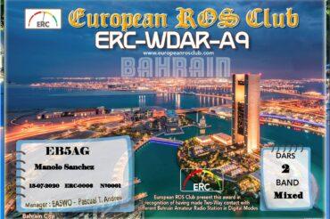 Diploma  ERC-WDAR-A9