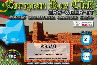 Diploma  ERC-WDAR-5T