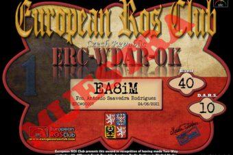 Diploma  ERC-WDAR-OK