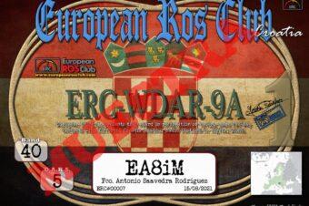 Diploma  ERC-WDAR-9A