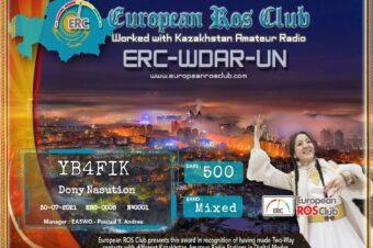 Diploma  ERC-WDAR-UN