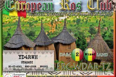 Diploma  ERC-WDAR-TZ