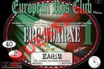 Diploma  ERC-WDAR-XE
