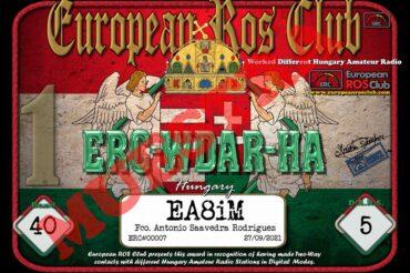 Diploma  ERC-WDAR-HA